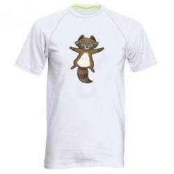 Чоловіча спортивна футболка Raccoon