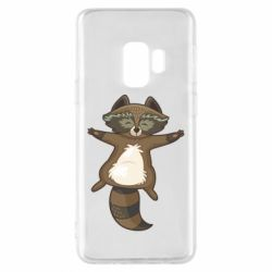 Чохол для Samsung S9 Raccoon