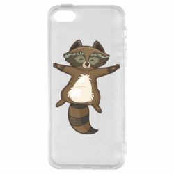 Чехол для iPhone5/5S/SE Raccoon
