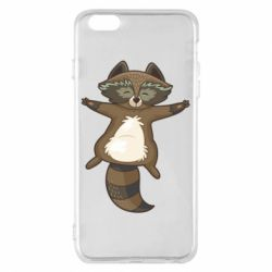 Чехол для iPhone 6 Plus/6S Plus Raccoon