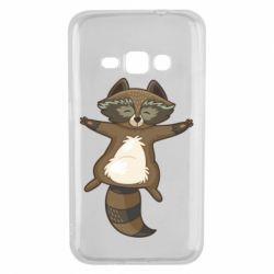 Чохол для Samsung J1 2016 Raccoon