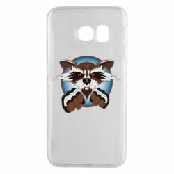 Чохол для Samsung S6 EDGE Raccoons and fists