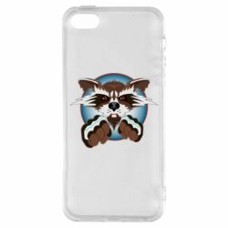 Чохол для iphone 5/5S/SE Raccoons and fists