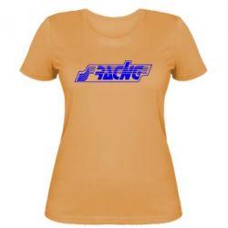 Женская футболка Racing