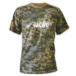 Камуфляжная футболка Racing - FatLine