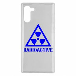 Чохол для Samsung Note 10 Radioactive
