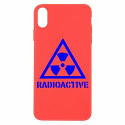 Чехол для iPhone X Radioactive - FatLine