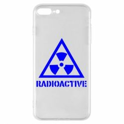 Чехол для iPhone 8 Plus Radioactive - FatLine