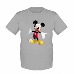 Детская футболка Радостный Микки Маус - FatLine