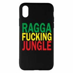 Чехол для iPhone X Ragga - FatLine