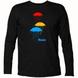 Футболка с длинным рукавом Rain - FatLine