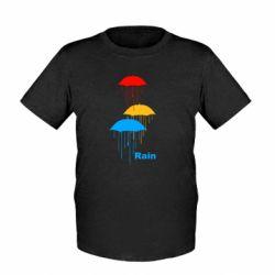 Детская футболка Rain - FatLine