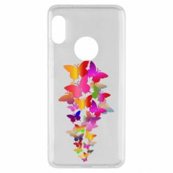 Чохол для Xiaomi Redmi Note 5 Rainbow butterflies