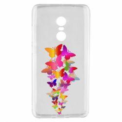 Чохол для Xiaomi Redmi Note 4 Rainbow butterflies