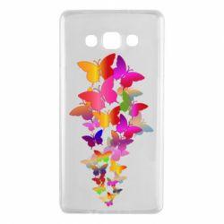 Чохол для Samsung A7 2015 Rainbow butterflies