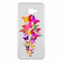 Чохол для Samsung J4 Plus 2018 Rainbow butterflies