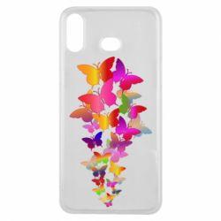 Чохол для Samsung A6s Rainbow butterflies