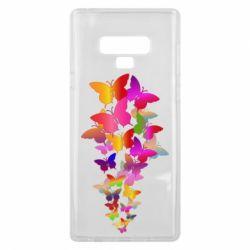 Чохол для Samsung Note 9 Rainbow butterflies