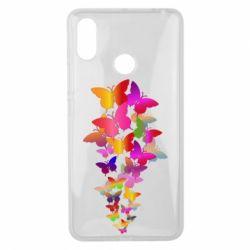 Чохол для Xiaomi Mi Max 3 Rainbow butterflies