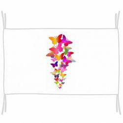 Прапор Rainbow butterflies