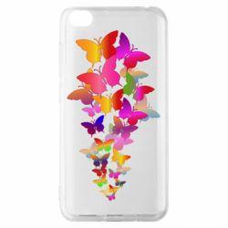 Чохол для Xiaomi Redmi Go Rainbow butterflies