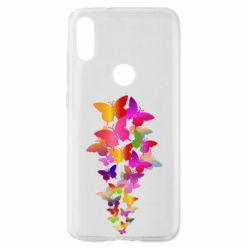 Чохол для Xiaomi Mi Play Rainbow butterflies