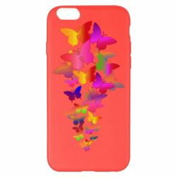 Чохол для iPhone 6 Plus/6S Plus Rainbow butterflies
