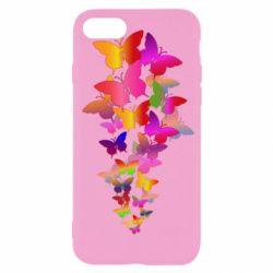 Чохол для iPhone 7 Rainbow butterflies