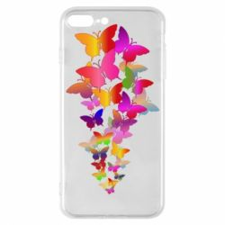 Чохол для iPhone 7 Plus Rainbow butterflies
