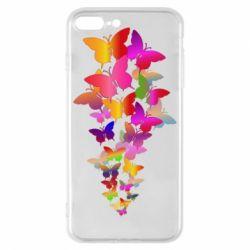 Чохол для iPhone 8 Plus Rainbow butterflies