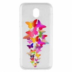 Чохол для Samsung J5 2017 Rainbow butterflies