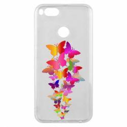 Чохол для Xiaomi Mi A1 Rainbow butterflies