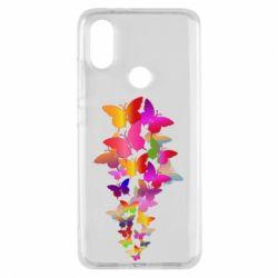 Чохол для Xiaomi Mi A2 Rainbow butterflies
