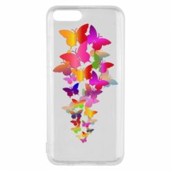 Чохол для Xiaomi Mi6 Rainbow butterflies
