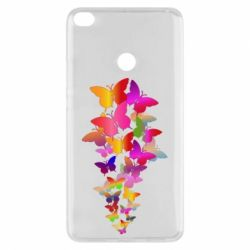 Чохол для Xiaomi Mi Max 2 Rainbow butterflies