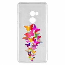 Чохол для Xiaomi Mi Mix 2 Rainbow butterflies