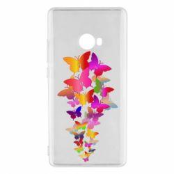 Чохол для Xiaomi Mi Note 2 Rainbow butterflies