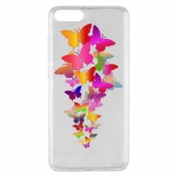 Чохол для Xiaomi Mi Note 3 Rainbow butterflies