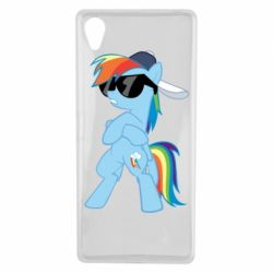 Чохол для Sony Xperia X Rainbow Dash Cool - FatLine