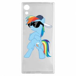 Чохол для Sony Xperia XA1 Rainbow Dash Cool - FatLine
