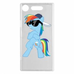 Чохол для Sony Xperia XZ1 Rainbow Dash Cool - FatLine