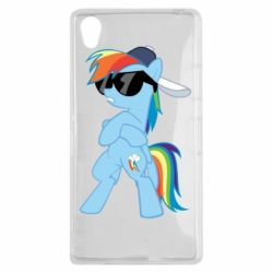 Чохол для Sony Xperia Z1 Rainbow Dash Cool - FatLine
