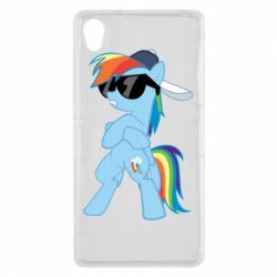 Чохол для Sony Xperia Z2 Rainbow Dash Cool - FatLine