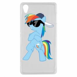 Чохол для Sony Xperia Z3 Rainbow Dash Cool - FatLine