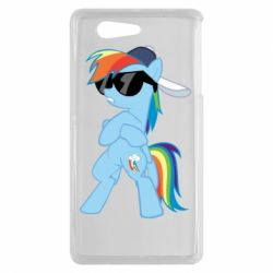 Чохол для Sony Xperia Z3 mini Rainbow Dash Cool - FatLine