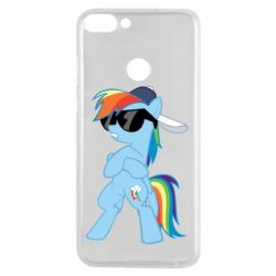 Чохол для Huawei P Smart Rainbow Dash Cool - FatLine