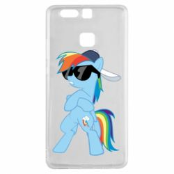 Чохол для Huawei P9 Rainbow Dash Cool - FatLine