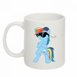 Кружка 320ml Rainbow Dash Cool - FatLine