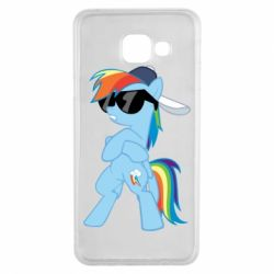 Чохол для Samsung A3 2016 Rainbow Dash Cool - FatLine