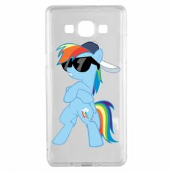 Чохол для Samsung A5 2015 Rainbow Dash Cool - FatLine